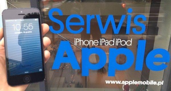Wymiana zbitej szybki w iPhone Szczecin serwis apple 24
