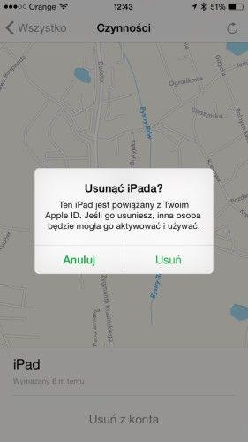 Serwis iPhone Szczecin AppleMobile.pl - jak zdjąć blokadę icloud find my iphone 25
