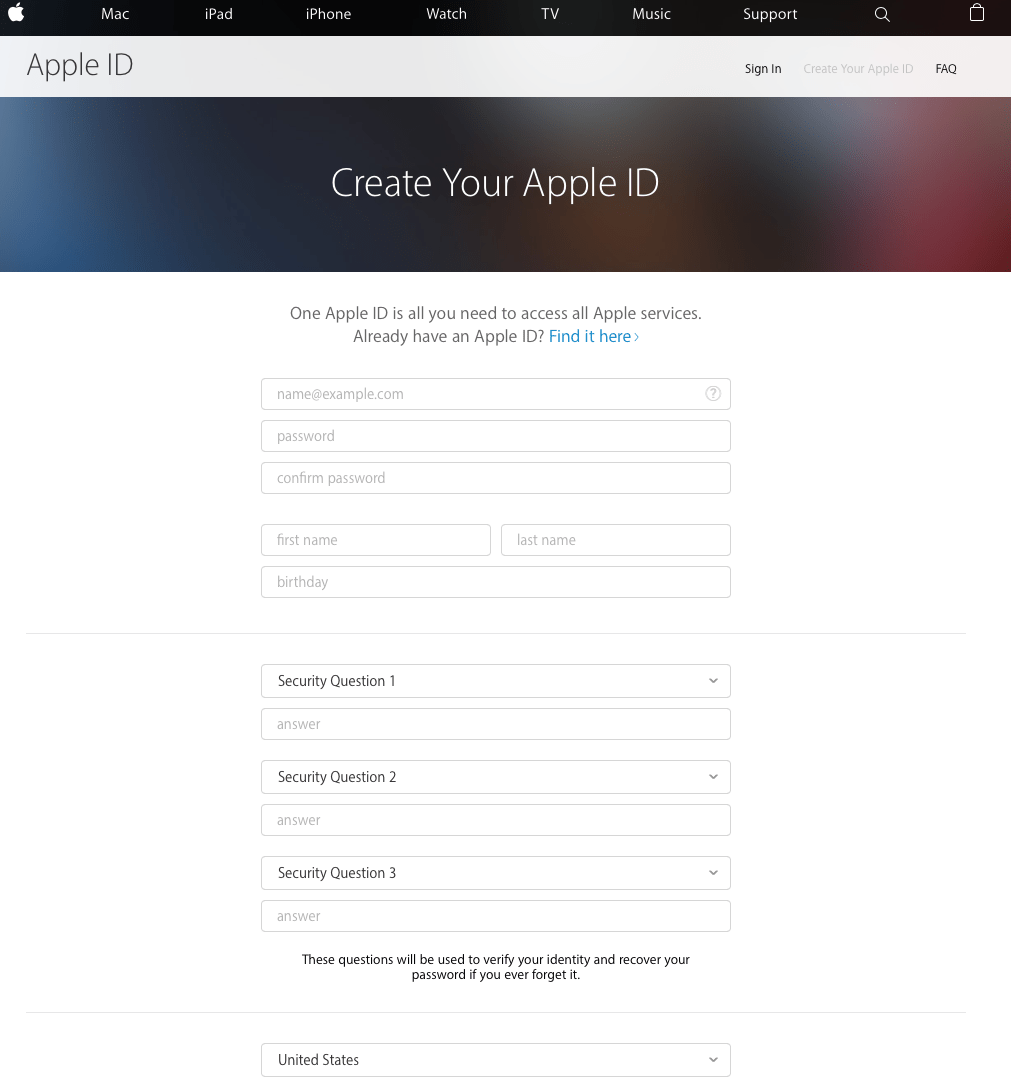 how to get apple developer id