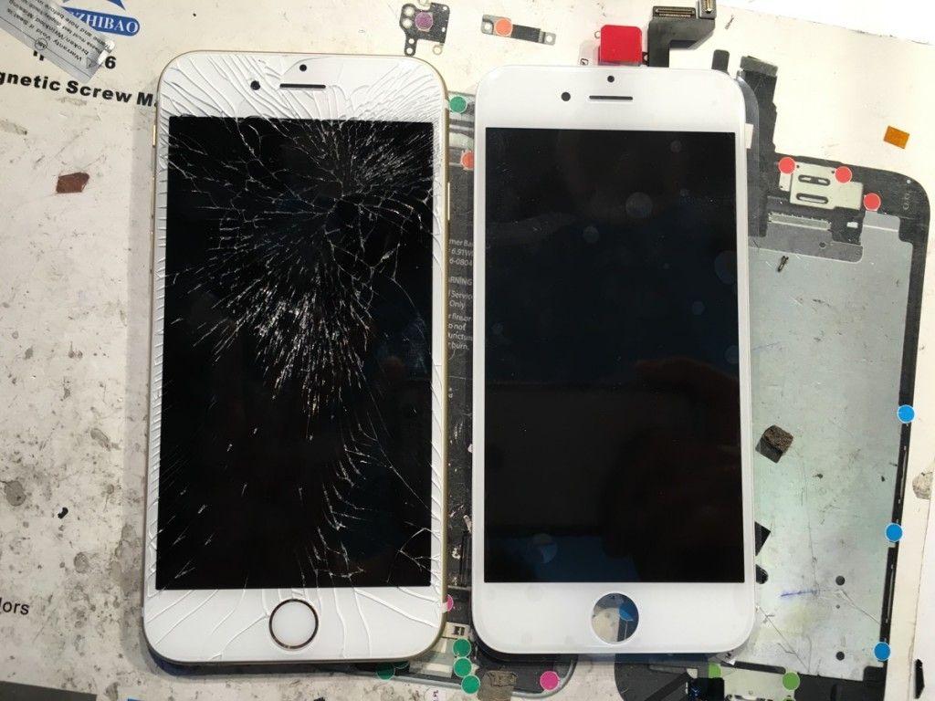 Serwis Apple Szczecin wymiana zbitej szybki w iphone 6s 1