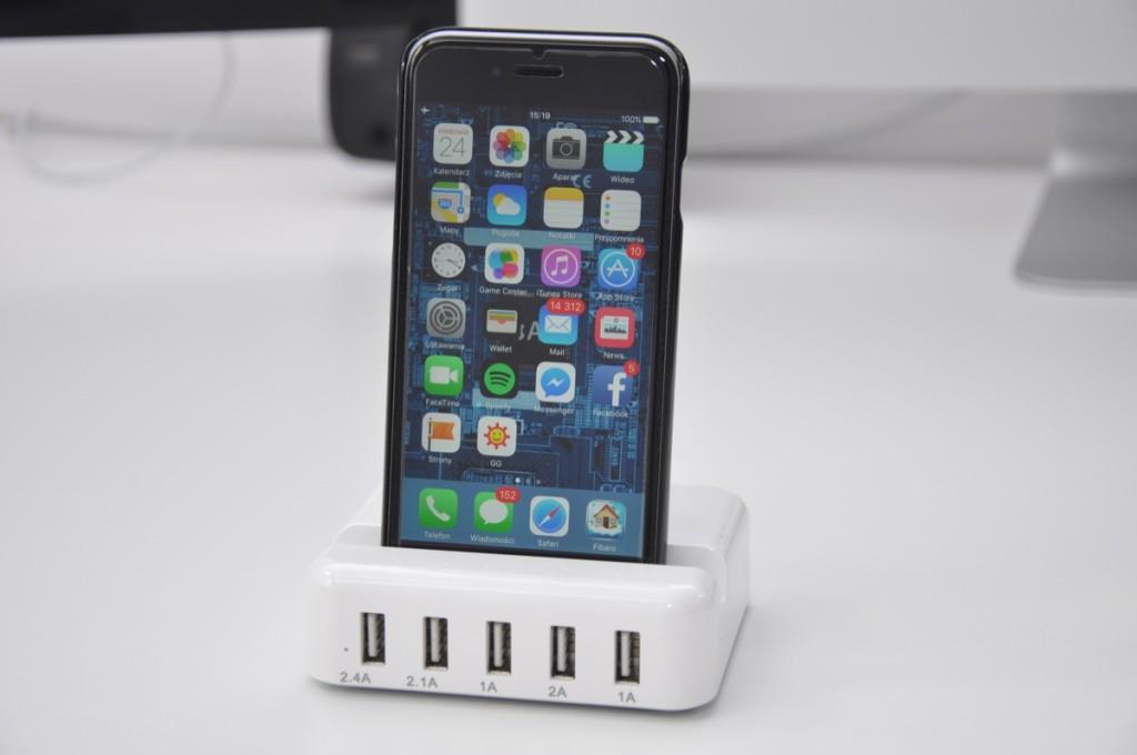Recenzja CSOP LDT-038 ładowarka 5x USB z Lightening 30W w AppleMobile.pl 14