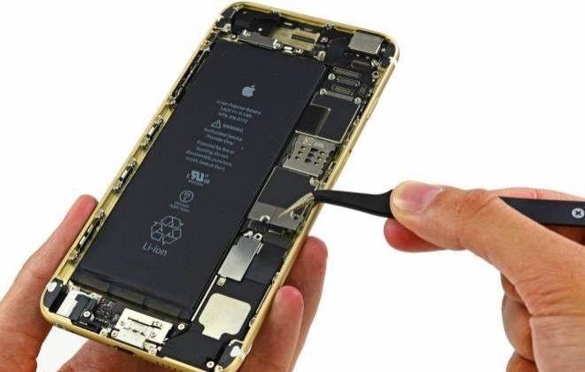 Wymiana baterii w iPhone, wybuchająca bateriw a iphone Applemobile.pl 2
