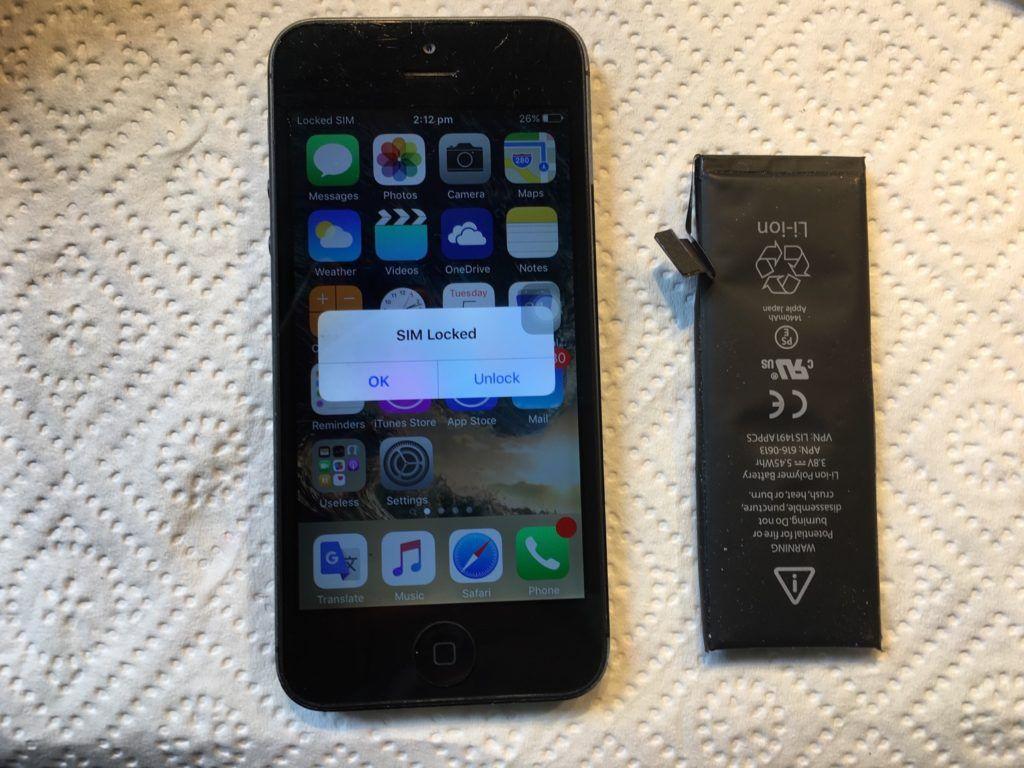 Wymiana baterii w iPhone, wybuchająca bateriw a iphone Applemobile.pl 22