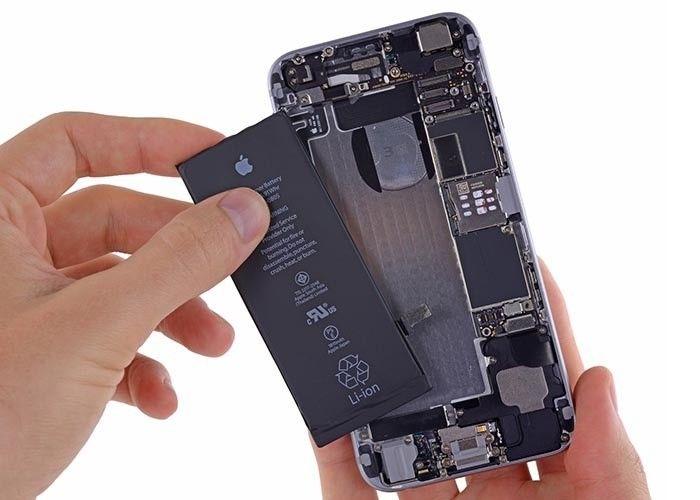 Wymiana baterii w iPhone, wybuchająca bateriw a iphone Applemobile.pl 33