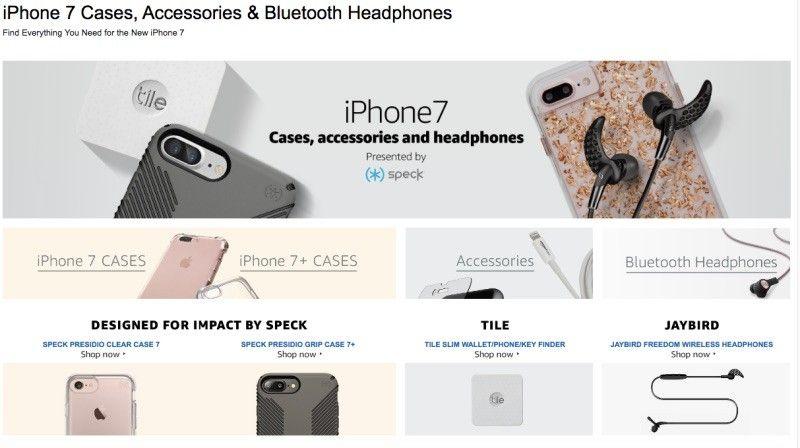 Amazon pokazał nowego iPhone'a 7 Plus przed premierą