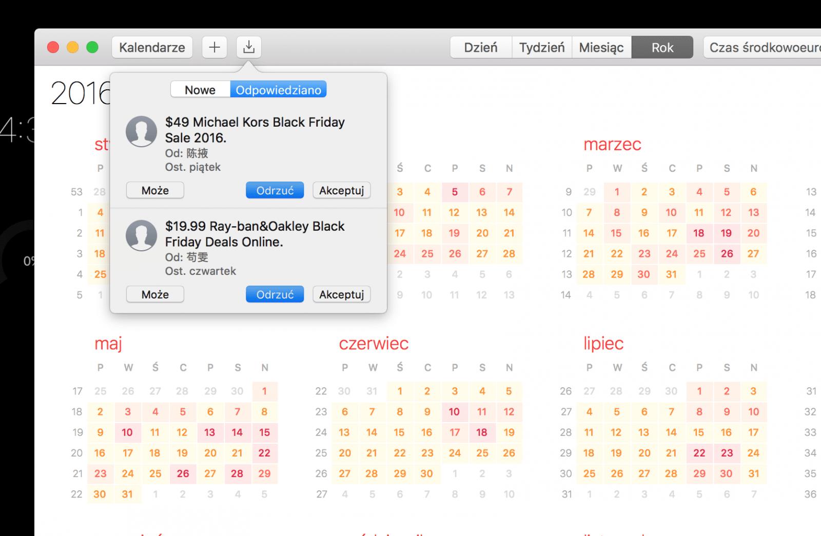 Doświadczyliście spamu w kalendarzu? Jest na to sposób