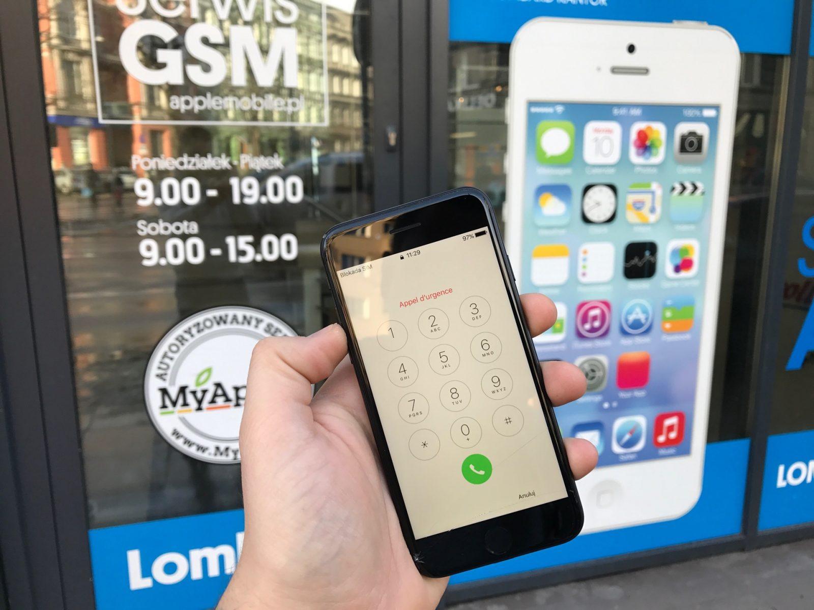 Zbita szybka w iPhone 7? Gdzie naprawić iPhone 7 w Szczecinie? W Serwis iPhone Szczecin APPLEMOBILE.PL