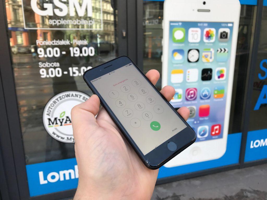 wymiana szybki w iphone 7 szczecin
