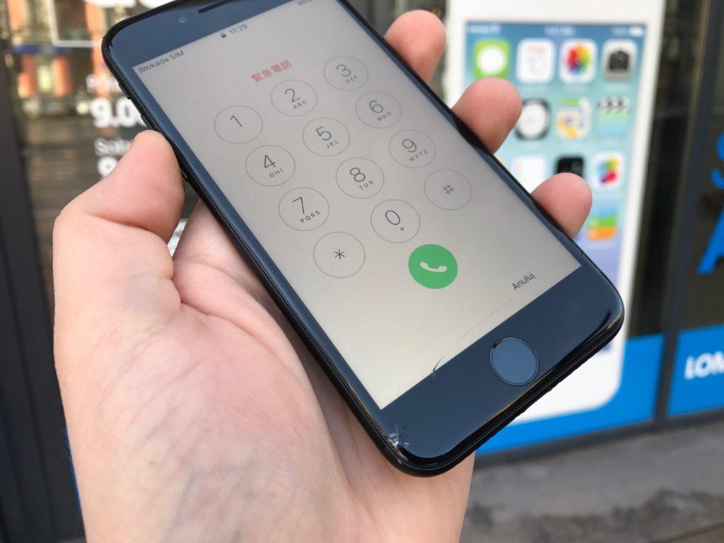 wymiana oryginalnego wyświetlacza w iphone 7 z kalibracją i programowaniem w apple