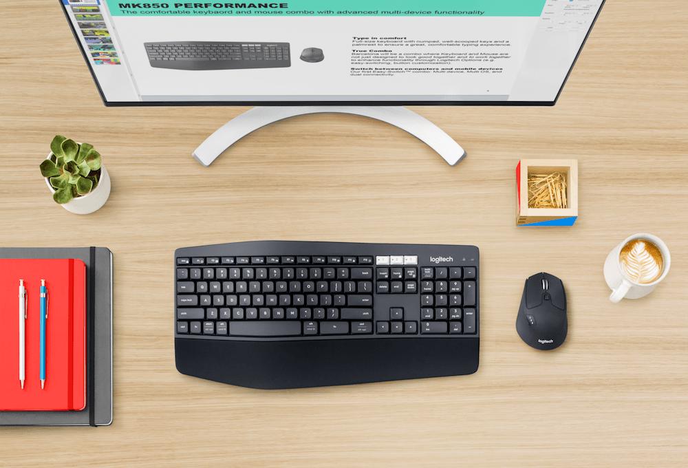 Recenzja Logitech MK850 Performance – klawiatura i mysz, którymi w jednej chwili obsłużysz trzy platformy