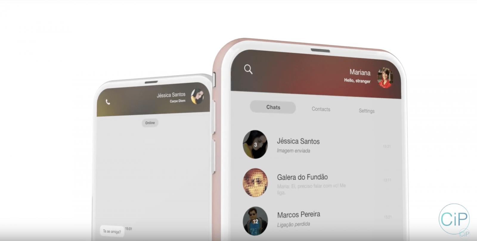Jeszcze jeden koncept iPhone'a 8