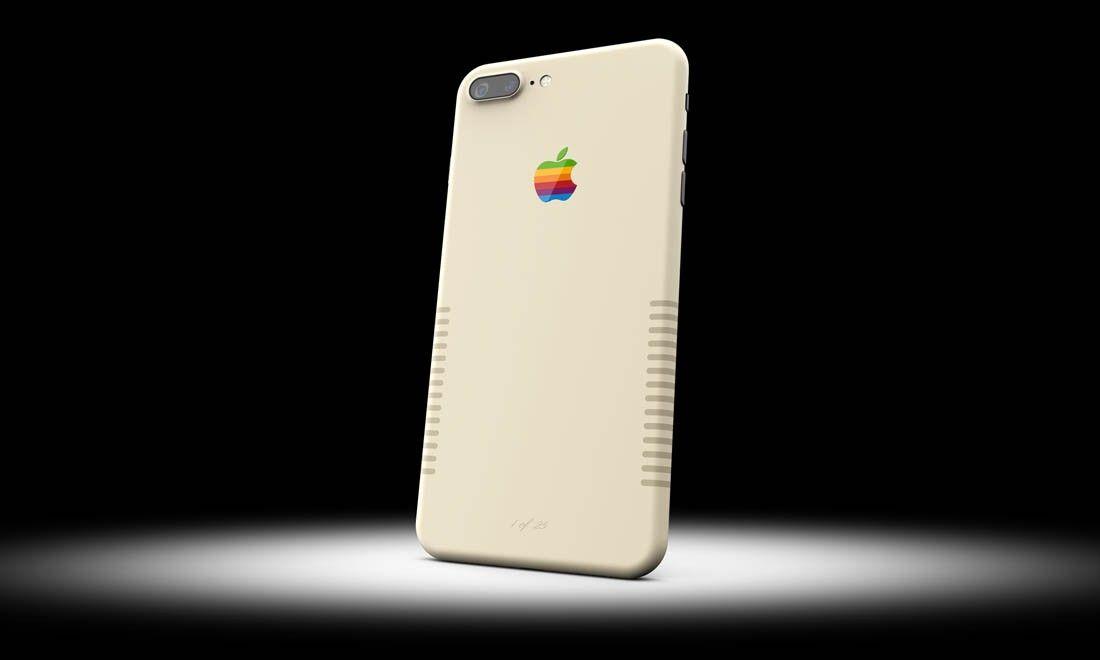 iPhone 7 Plus jak pierwszy Macintosh