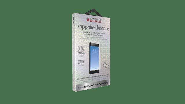 Szafir ochroni ekran przed uszkodzeniem
