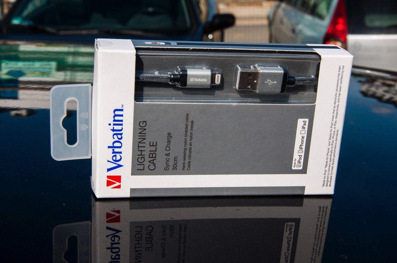 Recenzja Verbatim Lightening Cable – krótki 30cm przewód Lightening, idealny, jeżeli takiej długości potrzebujesz