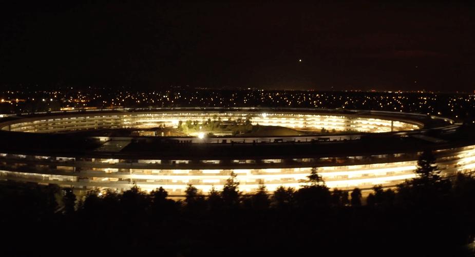 Film uwieczniający prace na nowym kampusie Apple