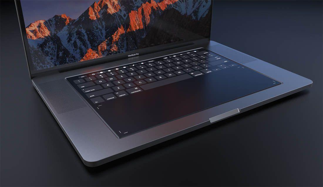 Bardzo ciekawy koncept MacBooka Pro