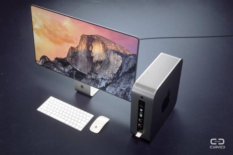 Ciekawy koncept Maca Pro i monitora od Apple