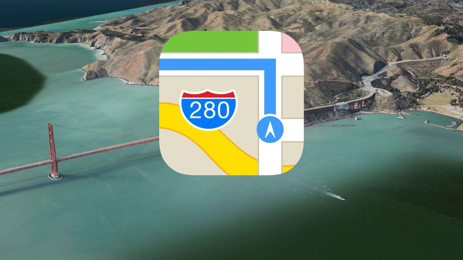 Nowe funkcje w Apple Maps