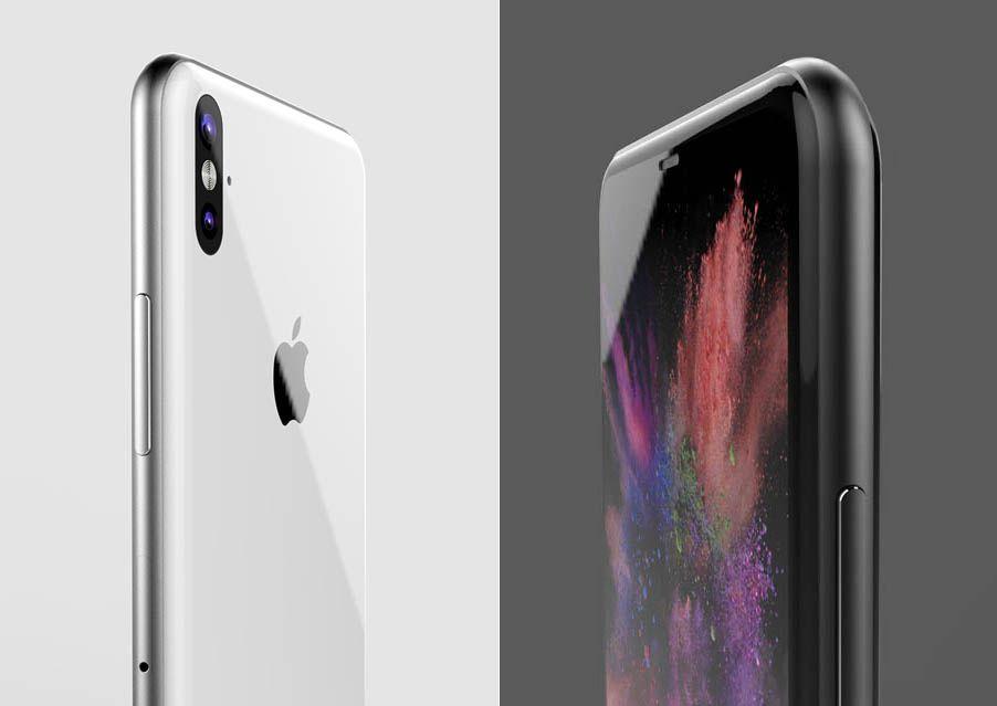 Bardzo realistyczny koncept iPhone'a 8