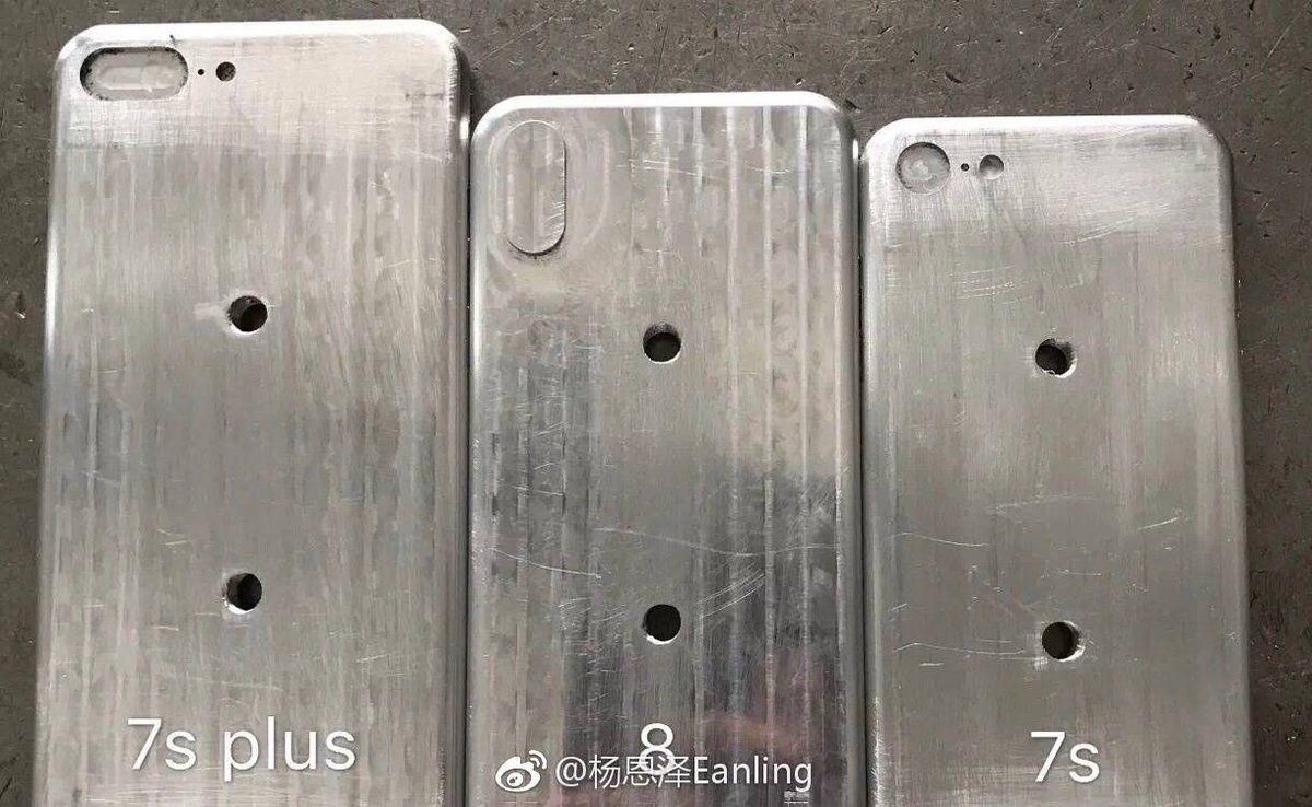Zdjęcia przedstawiające rozmiar iPhone'a 8