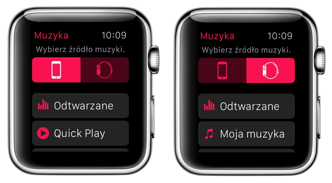Jak z zegarka od Apple zrobić iPoda