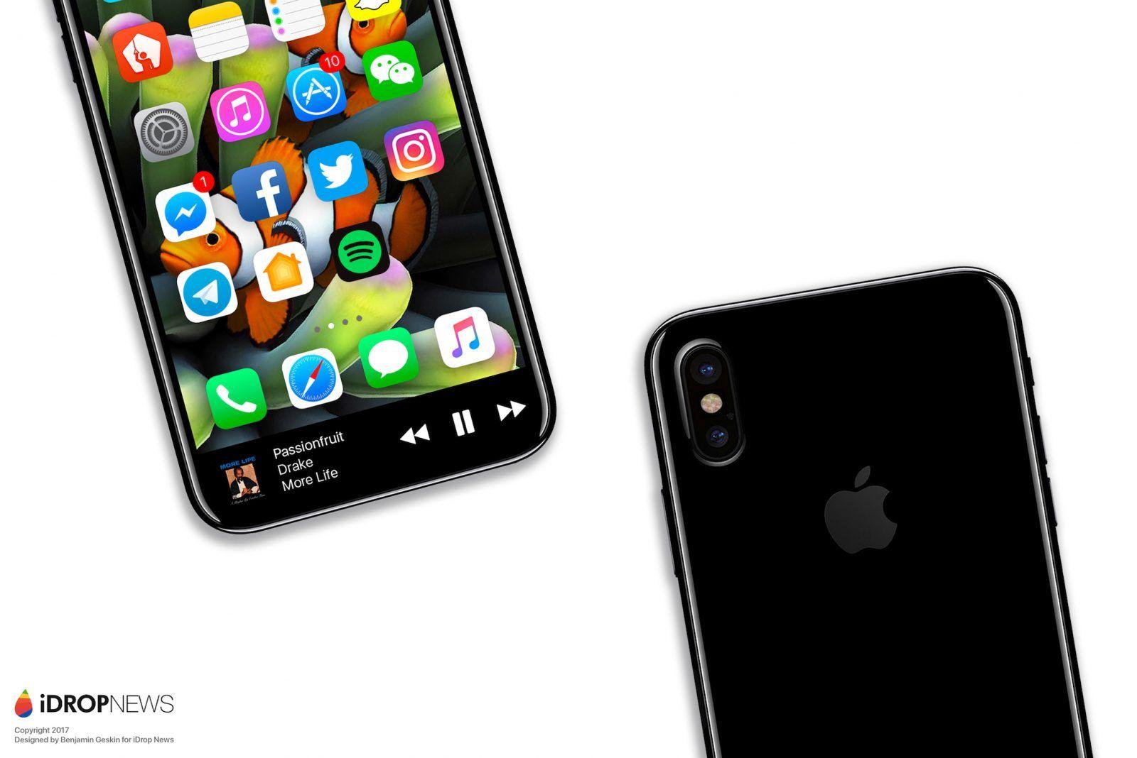 Kolejne przewidywania dotyczące iPhone'a 8