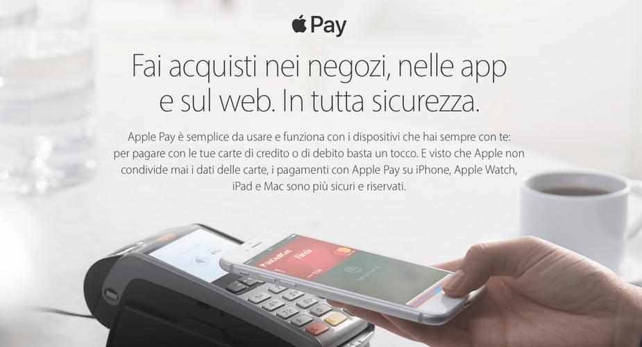 Apple Pay już oficjalnie we Włoszech