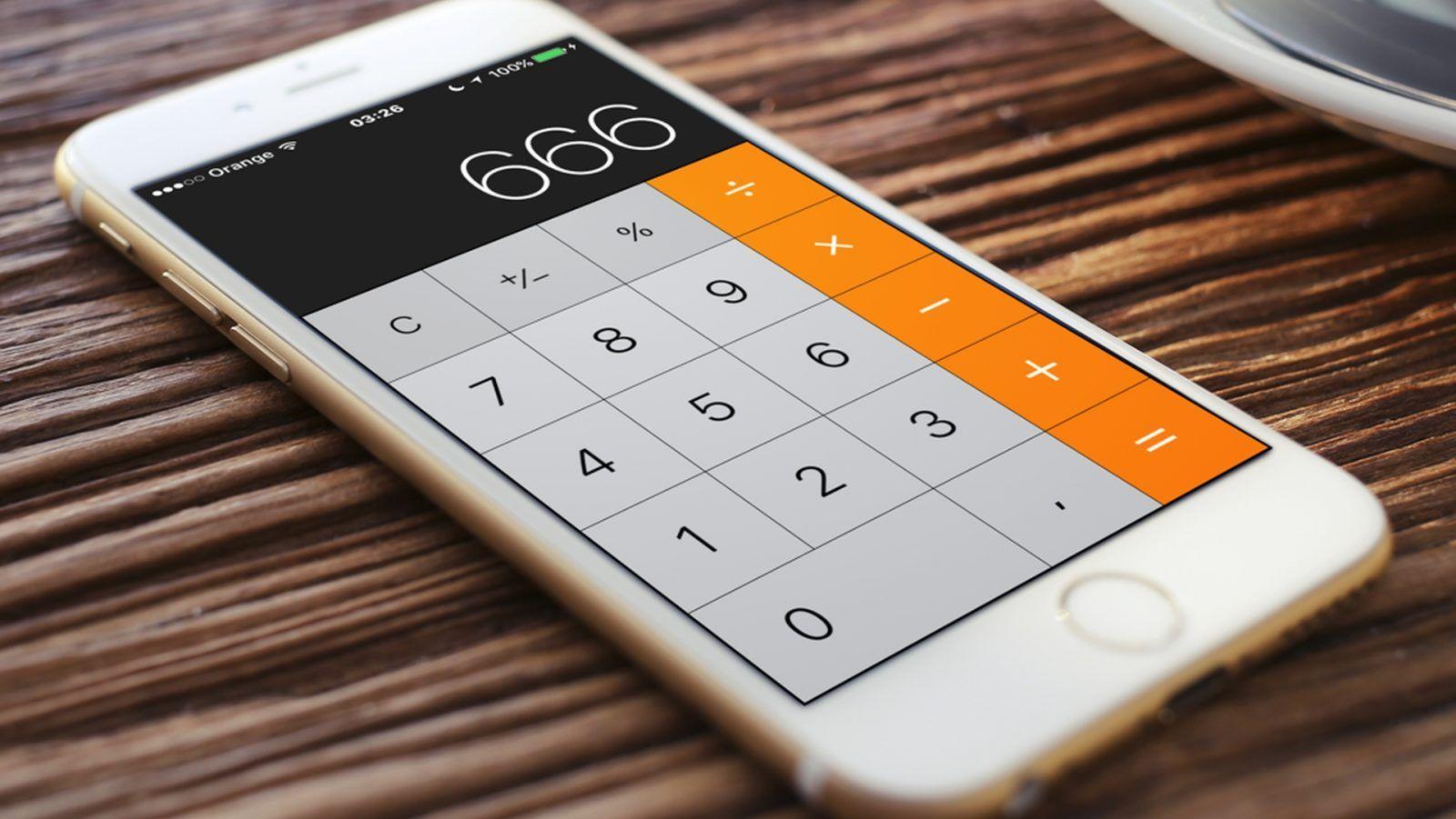Jak usunąć ostatnio wpisaną cyfrę w kalkulatorze na iOS?