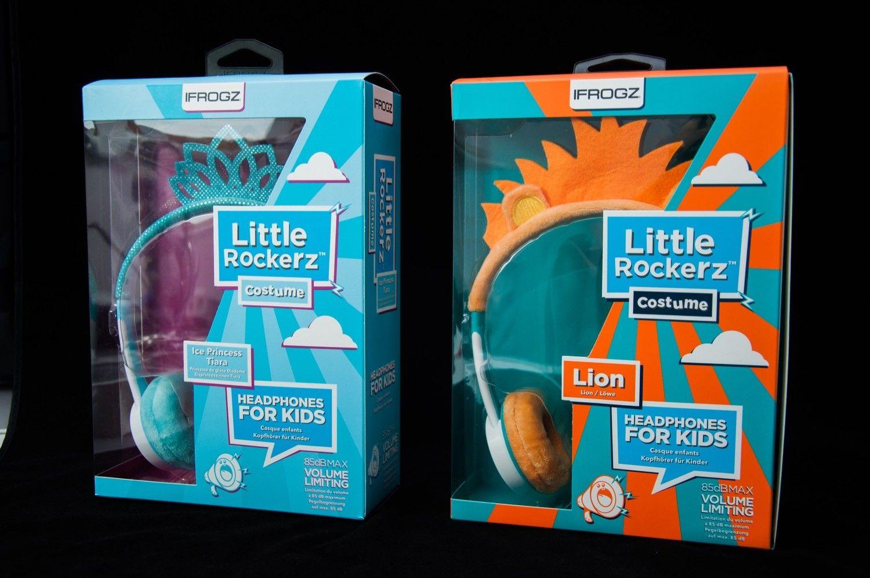 Recenzja IFROGZ Little Rockerz Costume. Słuchawki bezpieczne dla słuchu Twojego dziecka