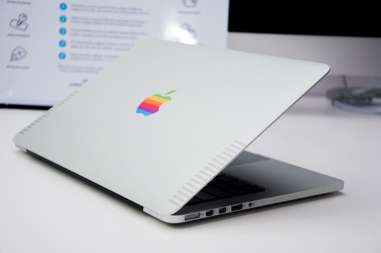 Recenzja Retro Skin od DoNiceSky.com dla Macbooka Pro Retina