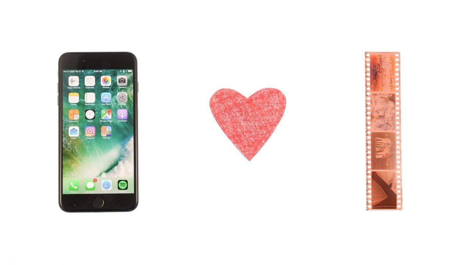Aplikacja FilmLab w smartfonach do skanowania negatywów