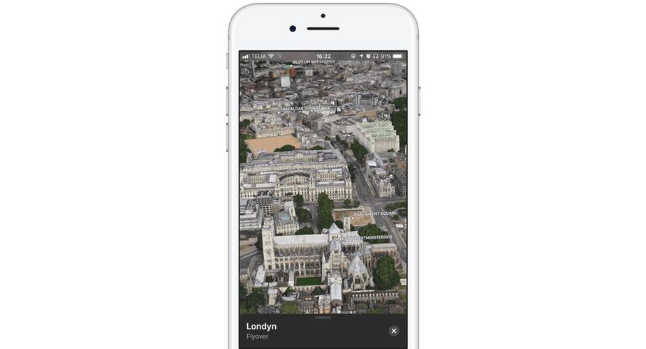 iOS 11 i ciekawa zmiana w Mapach