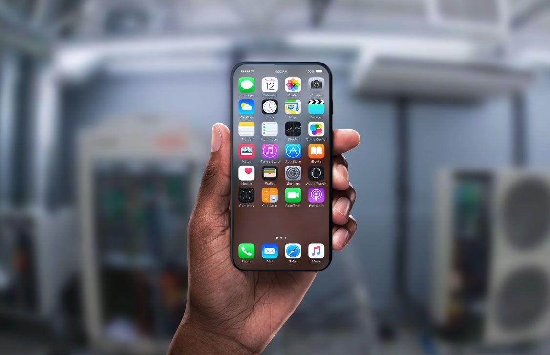 iPhone 8 z zaawansowanym laserem VCSEL