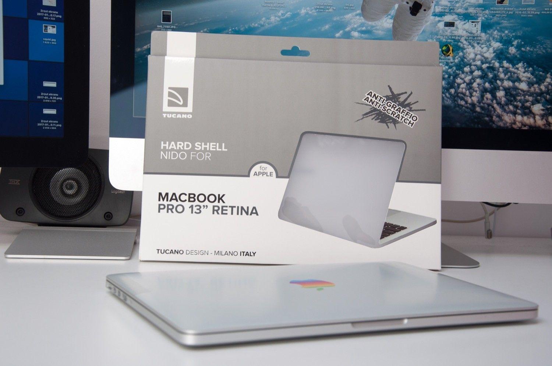 Recenzja TUCANO HARD SHELL NIDO dla Macbooka Pro Retina 13″
