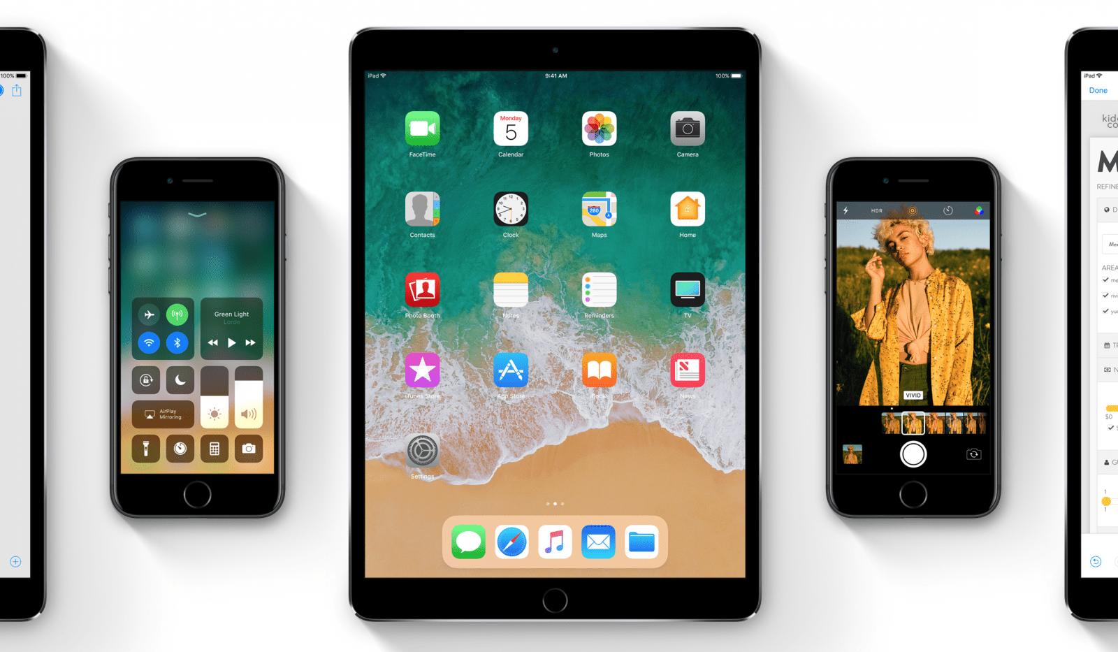 Wczorajsze nowości – iOS 11