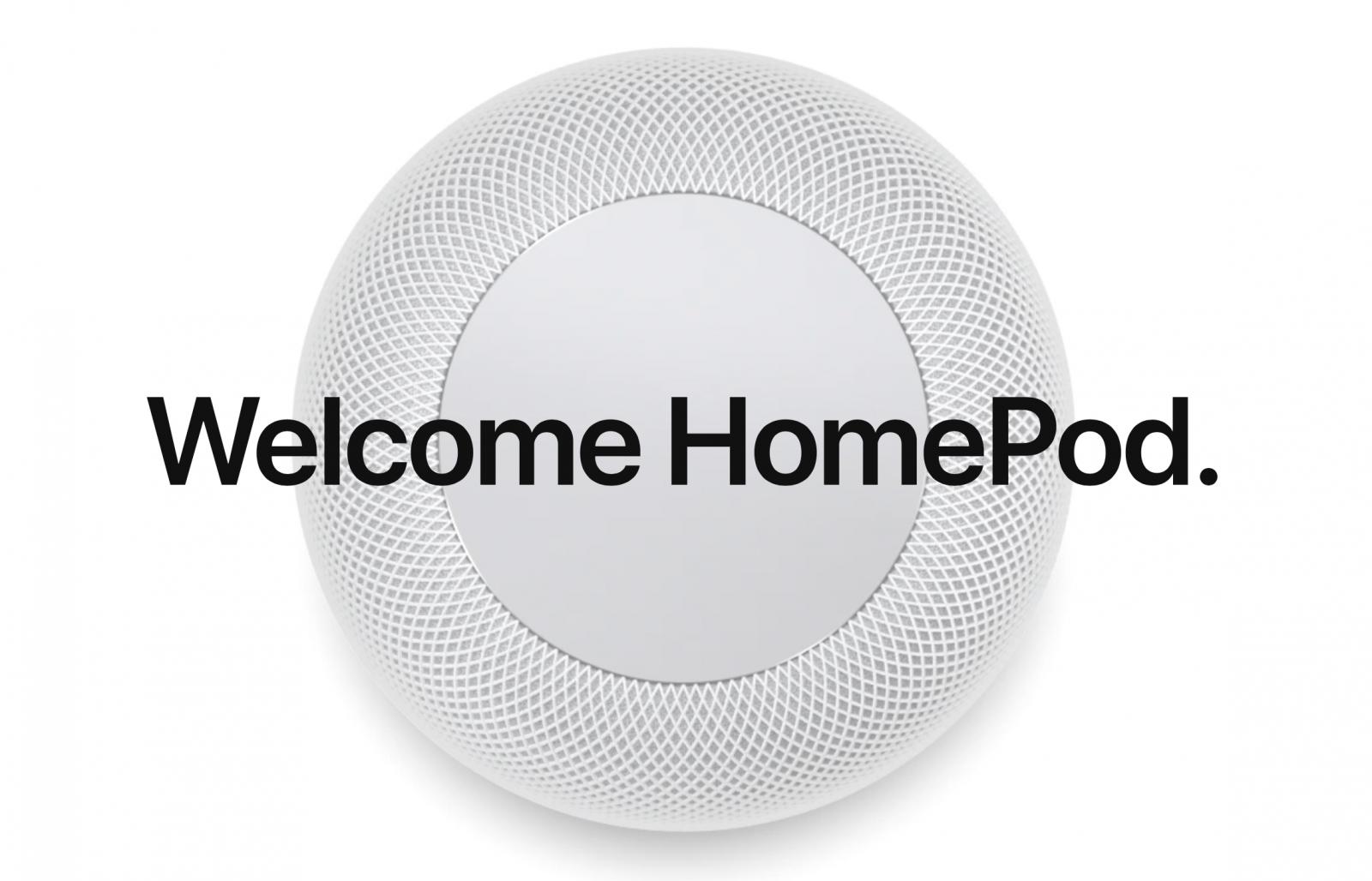 Wczorajsze nowości – HomePod