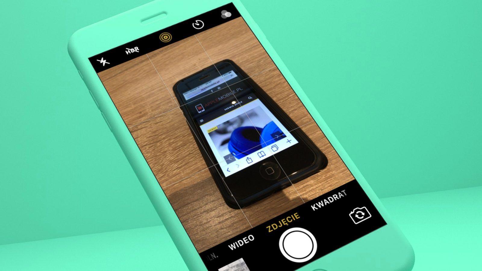 Jak zapamiętać ostatnio używany tryb aplikacji Aparat w iOS?