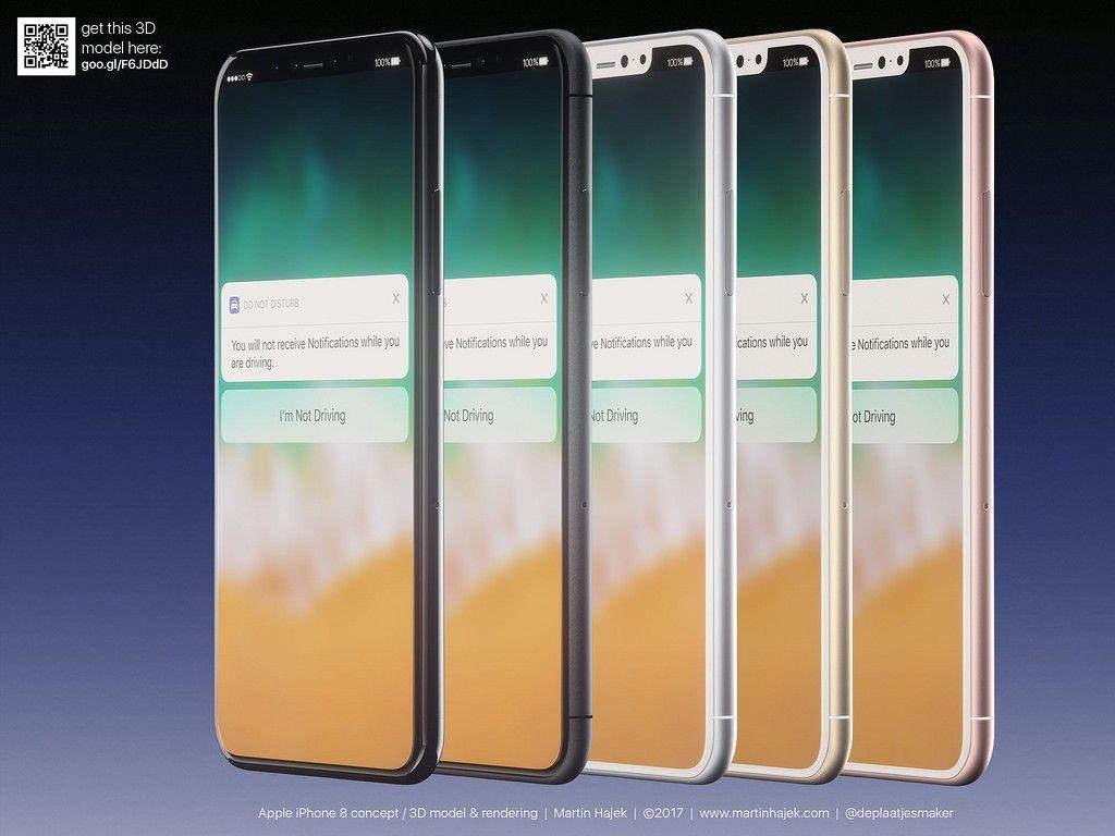 iPhone 8 na kolejnej, bardzo realistycznej wizji