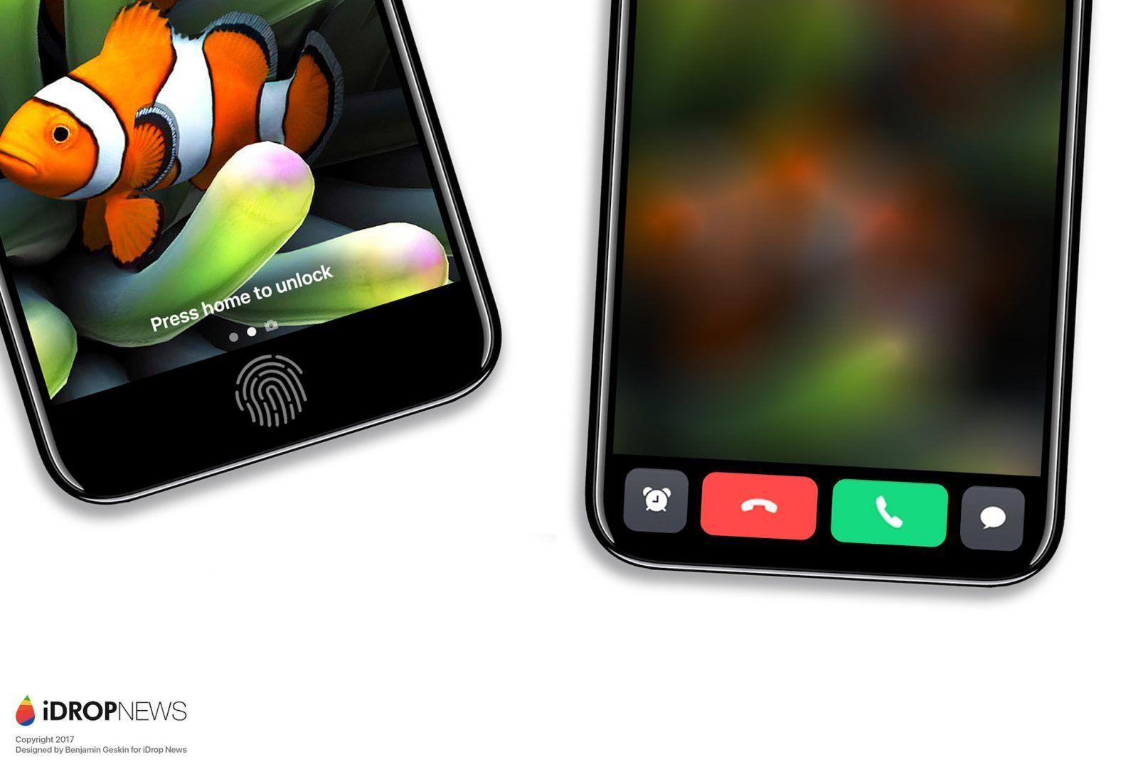 Tylny panel iPhone'a 8 uwieczniony na zdjęciu