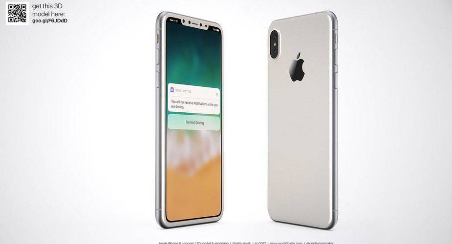 iPhone 8 – koncept Martina Hajka