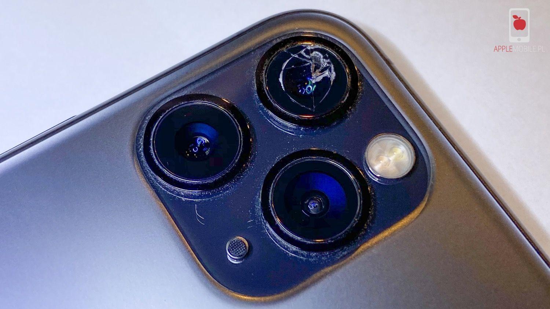 rozbita szybka kamery aparatu w iPhonie X