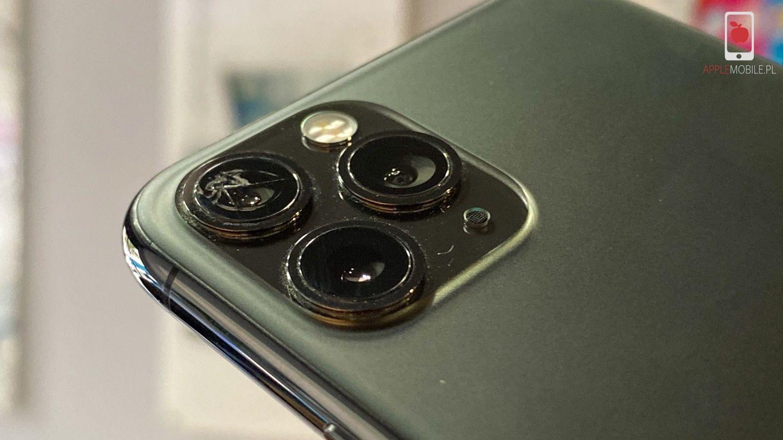 Wymiana zbitej szybki aparatu w iPhone w Serwis iPhone Szczecin APPLEMOBILE.PL