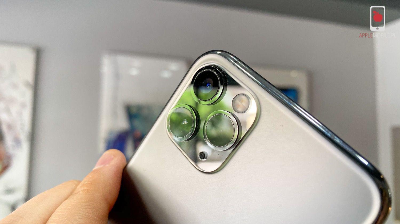 Po wymianie szkła aparatu w iPhonie nie ma żadnych śladów naprawy