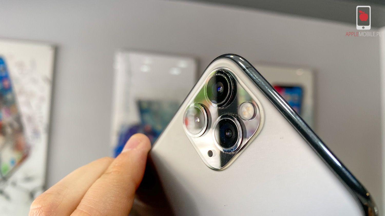 Gotowy iPhone 11 Pro po wymianie szybki aparatu kamer