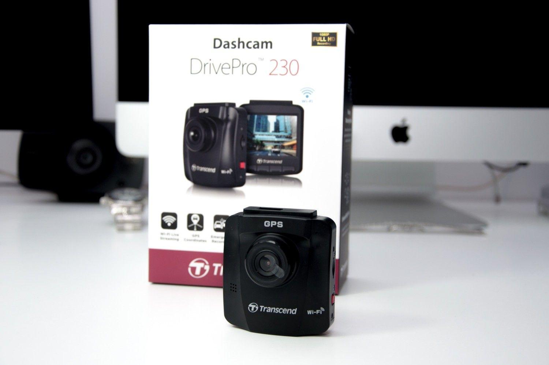 Recenzja Transcend Dashcam DrivePro 230 – samochodowa kamerka zarządzana ze smartfonu