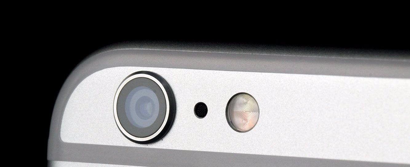 wymiana szybki kamery w telefonie iPhone
