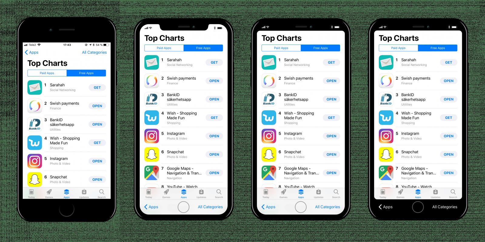 Jak może prezentować się iOS 11 na ekranie iPhone'a 8