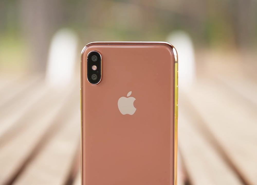 iPhone 8 w kolorze rumianego złota