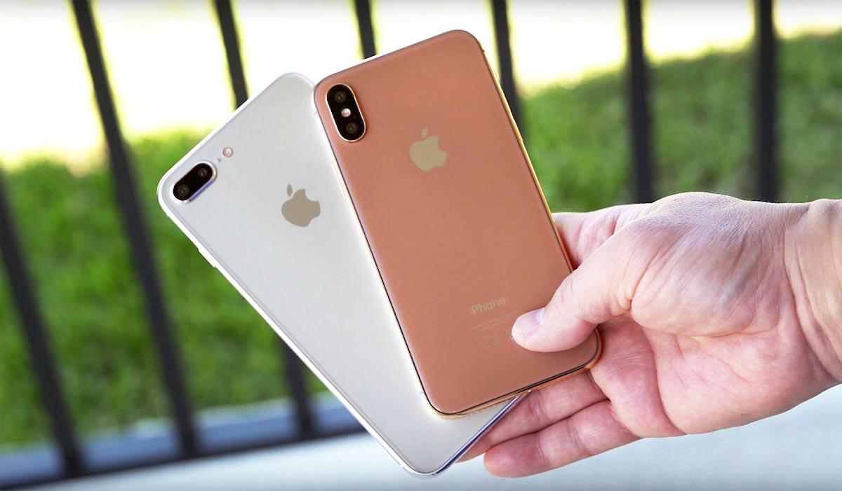 Atrapy nadchodzących modeli iPhone'a na wideo