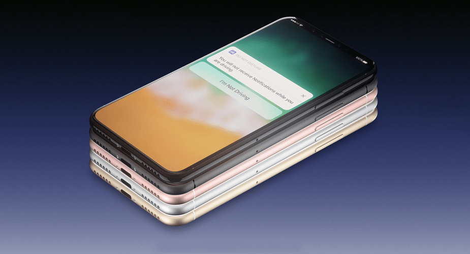 iPhone 8 – kolejna wizja Martina Hajka